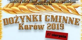 Dożynki gminne Karów 2019