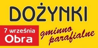 Dożynki gminno-parafialne w Obrze